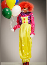 Womens Pennywise Style It Killer Clown Costume