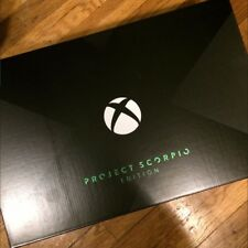 FREE SHIPPING: Microsoft Xbox One X Project Scorpio Edition, Black Console
