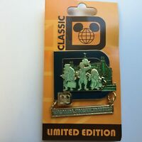 WDW - Classic D Collection - The Haunted Mansion Attraction Disney Pin 84813