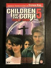 Children Of The Corn 5 VHS Tape English with dutch subs Horror