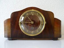 Dutch JUBA Mantel Shelf Clock Vintage Retro Design (Junghans Kienzle Hermle era)