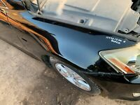 2007 LEXUS IS220 FRONT WING PANEL RIGHT ! DRIVER SIDE ! OSF BLACK 05-12 IS250