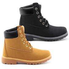 Botas hombre/mujer Premium Boot botines zapatos anfibios amarillo | negro
