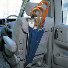1pc Auto Car Seat Back PVC Umbrella Storage Holder Hanging Bag Durable Beige