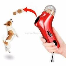 Pet Dog Treat Launcher Food Training Feeders Catapult Fun Outdoor Cat Puppy Toy