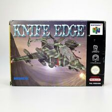 Knife Edge for Nintendo 64 - PAL - Boxed w/ Cartridge, Manual & Booklet - Tested