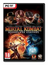 Mortal Kombat Komplete Edition - PC - Brand New & Sealed