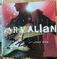 Gary Allan Greatest Hits Autographed CD Insert Mint