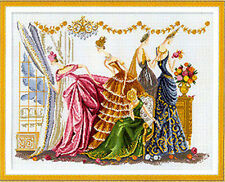"""NEW Cross Stitch Kits""""Dancing party"""""""