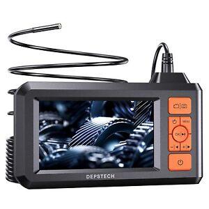 DEPSTECH Industrial Endoscope 1080P HD Borescope 4.3'' Screen Inspection Camera
