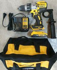DeWalt 20V Max XR Brushless 3 Speed Hammer Drill Kit Model# DCD996