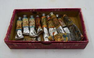 Winsor & Newton - Oil Paint Lot - Antique!