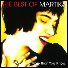 MARTIKA - THE BEST OF CD ~ I FEEL THE EARTH MOVE +++ ~ 90's POP / DANCE *NEW*