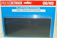 Peco 00 Setrack ST-291 Platform Straight - Stone.(00) Model Railway