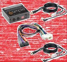 Toyota radio dual aux audio input adapter. 3.5mm x2. Add iPod, Zune, DVD audio +