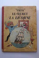 TINTIN LE SECRET DE LA LICORNE - B11 - 1954