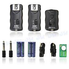 JJC 2.4GHz Wireless Remote Control & Flash Trigger w/ 2 Receivers for DSLR Nikon
