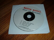 BATES MOTEL Deux Ex Machina CD HEAVY METAL DEMO PROMO Cease And Desist ROCK Rare