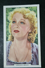 Virginia Bruce MGM  1930's Original Vintage Film Star Portrait Card