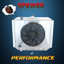 Aluminum Radiator + Fan Shroud For Mitsubishi Pajero NJ NK NL 3.5L V6 6G74