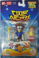 Bandai Digimon Izzy Y Sora Figuras de carácter Nuevo