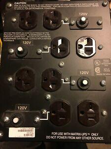 APC MXA103 Power Distribution Stripp AC 240V L14-30P Input - 8 5-20R  output