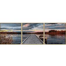 Schipper 609470754 - Malen nach Zahlen - Sonnenaufgang am See (Triptychon)