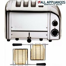 DUALIT TOASTER 4 SLICE POLISHED STEEL CLASSIC WITH 5 YEAR WARRANTY IN HEIDELBERG