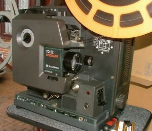 BELL & HOWELL 1695 16mm PROJECTOR - WORKING OR SPARES OR REPAIR - PLEASE READ