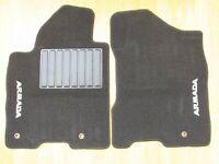 Nissan Armada OEM Front Floor Mat Set (2) Driver/Passenger Black 2005-2008