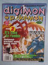 PoKemon vs Digimon 2000 Hit Sensations Volume 1 Limited Collectors Edition