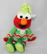Elmo Collectible Singing Giggling Talking Elf that can Sit on a Shelf