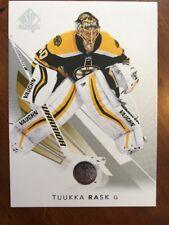2017-18 UD Hockey SP Authentic Base #93 Tuukka Rask