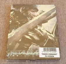Steelbook Case for Metal Gear Rising Revengeance Render Commando PS3 Version New