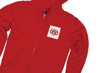 686 High Times Full Zip Hoody (L) Red