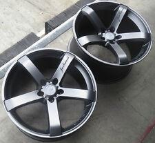 """20"""" MRR VP5 Wheels for Magnum Charger Challenger Chrysler 300 SRT8 20x9 20x10.5"""