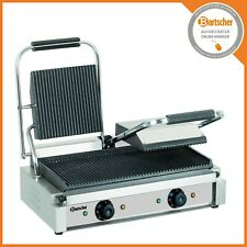 Bartscher Elektro-Kontaktgrill Grillplatten gerillt BA150670