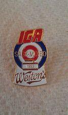 CURLING PIN WESTON'S SASK. MIXED 1993 IGA