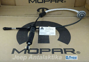 Transmission Shift Cable Jeep Wrangler TJ 03-06 Automatic 52109624AD New Mopar