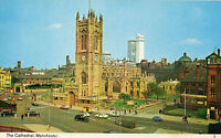 1970's Bamforth postcard of Manchester Cathedral