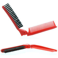 Folding Brush & Comb - Colors May Vary - 4 counts