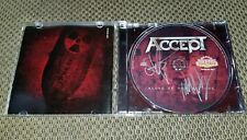 AUTOGRAPHED!!!! ACCEPT - Blood Of The Nations CD - AWESOME!!!!!!!!!!!!!!!
