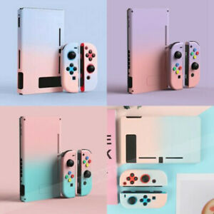 for Nintendo Switch Console Jon-Con Kawaii Gradient Hard Case Cover Snap on Case