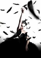 BLACK SWAN Movie PHOTO Print POSTER Film 2010 Natalie Portman Textless Glossy 06