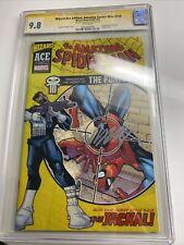 Wizard Ace Ed. Amazing Spider Man #129 04/02 Signed. CGC 98