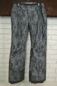 Patagonia Insulated Snowbelle Snow Pants Gray Size M Womens Excellent Condition!