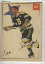 1954-55 PARKHURST # 64 ED SANDFORD NICE CARD
