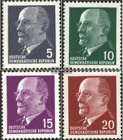 DDR 845-848 (kompl.Ausgabe) postfrisch 1961 Walter Ulbricht