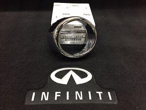 Infiniti G37 Sedan NO Tech Pkg Fog Lamp Chrome Trim Ring ONLY Right 622561MS2D