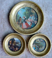 Italian Empire Decorative Wall Hangings Made In Italy Vintage 1950.